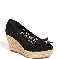 Tory Burch 'Jackie' Wedge Espadrille