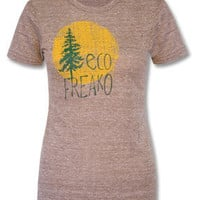 Eco Freako ecoHeather Tee: Soul-Flower Online Store