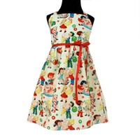 Hemet Vintage Candy Girls Dress