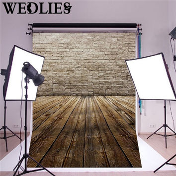 150X90cm Vinyl Photography Background Cloth Wood Floor Brick Backdrops Photo Studio Props Party Events Decoration Craftwork