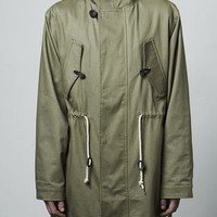 Khaki Oversized Hunting Parka - Topman LTD   - New In