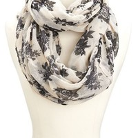 Black Rose Infinity Scarf: Charlotte Russe