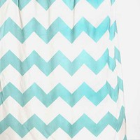 Zigzag Shower Curtain-
