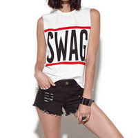 Reverse Swag Muscle Tank at PacSun.com