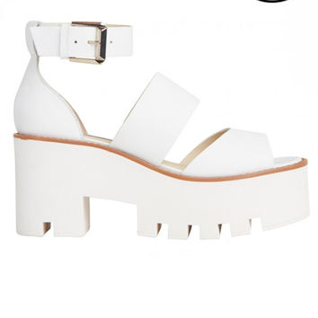 Windsor Smith - Puffy Sandals - White