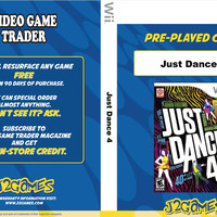 Just Dance 4 - Wii (Game Only)