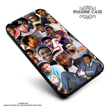 Childish Gambino collage case cover for iphone, ipod, ipad and galaxy series