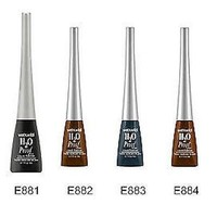 Wet n Wild H2O Proof Waterproof Mega Liner Liquid Eyeliner - Choose Color