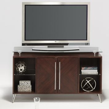 Studio City Contemporary Media Console Dark Mozambique
