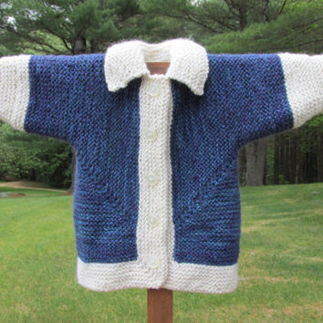 Alpaca & Wool Baby Sweater