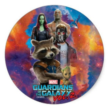 Guardian of the Galaxy White Chocolate Covered Oreos