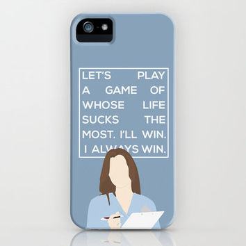 Greys Anatomy: Meredith Grey iPhone Case by Holly Ent | Society6