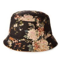 Icon Brand Bucket Hat with Reversible Floral Print - Caps & Hats - Accessories | Shop for Men's clothing | The Idle Man