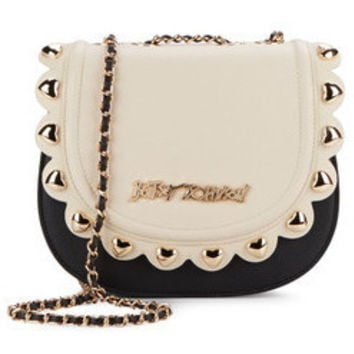 Betsey Johnson Wavy Days Two-tone Crossbody Bag