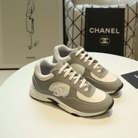 New Fashion Double C Low Top Sneaker Reference #1218 - Beauty Ticks