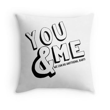 Dave Matthews Band You & Me Lyrics Pillow