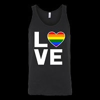 LGBT - Love - Unisex Tank Top T Shirt - TL00819TT