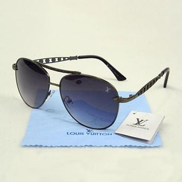 Perfect Louis Vuitton LV Women Fashion Popular Summer Sun Shades Eyeglasses Glasses Sunglasses