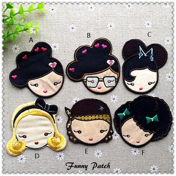 Harajuku Lovers Iron on Patches 429-H