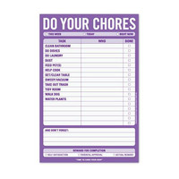 KNOCK KNOCK DO YOUR CHORES PAD