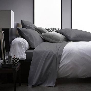 4 Pieces Ultra Soft 1800 Series Bamboo Bed Sheets Set