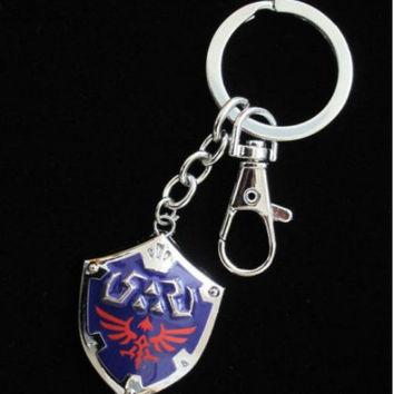 Legend of Zelda Link Hylian Shield Key Chain