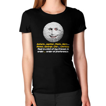 Mighty boosh the moon Women's T-Shirt