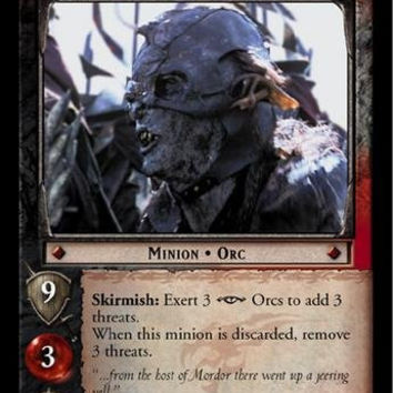 Lord of the Rings TCG - Mordor Guard - The Return of the King