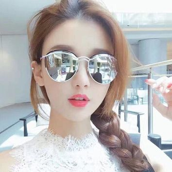 ca DCCKTM4 Vintage Stylish Mirror Strong Character Metal Sunglasses [10155831815]