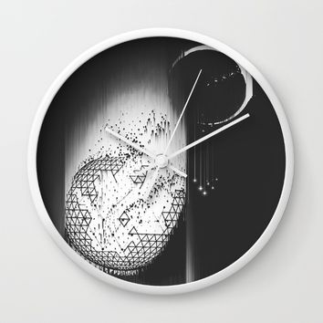 Truth Seekers Only Wall Clock by Ducky B