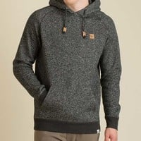 tentree Marl Pullover Hoodie for Men in Black FA16-MHMEN-BLK