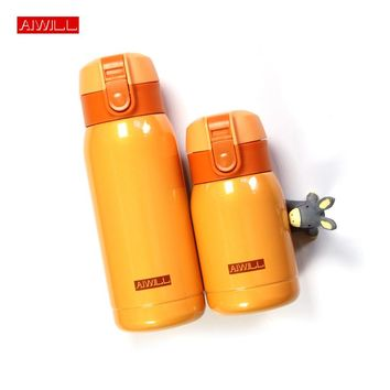 Thermo Mug Vacuum Cup Stainless Steel thermos Bottle Belly cup Hot Thermal Bottle for water Insulated Tumbler For Car Coffee Mug