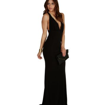 Alessia- Black Prom Dress