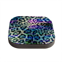 "Gabriela Fuente ""Wild"" Coasters (Set of 4)"