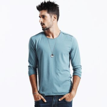 Men's Causal Fashion Shirt New Arrival Long Sleeve Tee - Men's Long Sleeve Tee