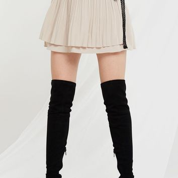 a5e802140 Angelina Cut Out Tulle Sweater - What's from STORETS