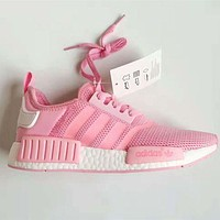 [Special offer] Adidas NMD Girl Pink Trending Running Sports Shoes H 9-6