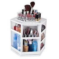 NEW**Tabletop Spinning Cosmetic Organizer** by Lori Greiner**Makeup Storage
