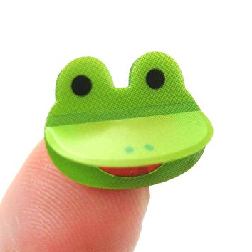 Frog Toad Shaped 3D Pop-Up Stickers for Scrapbooking and Decorating