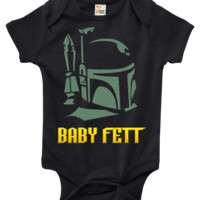 Baby Bodysuit - Baby Fett Star Wars Themed Baby Clothes