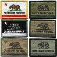 """BuckUp Tactical Morale Patch Hook California Sacramento State Patches 3x2"""""""