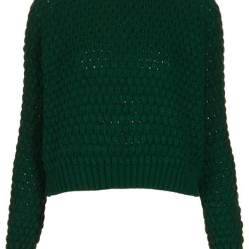 Knitted Chunky Bobble Jumper - New In This Week - New In - Topshop USA