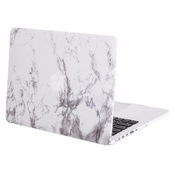 2017 New For Macbook Air 13 13.3 Marble Shell Case For Mac Book Pro 13 13.3 Cover  + Keyboard Protector Skin  A1502  A1425