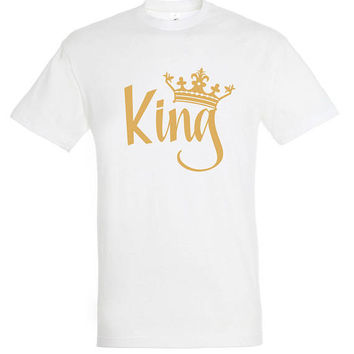 King T-shirt, for men, men t-shirt, gift for him, gift for husband, gift ideas, personalized t-shirt,