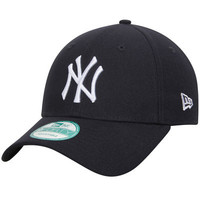 Men's New York Yankees New Era Navy League 9FORTY Adjustable Hat