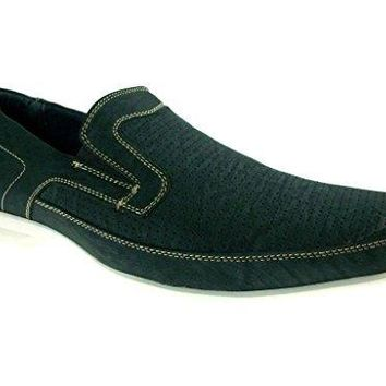 Men's 30117A Slip On Moccasin Casual Loafer Dress Shoes