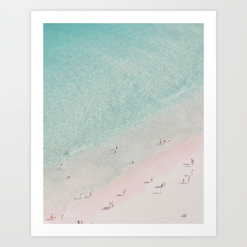 beach - summer of love III Art Print by ingz