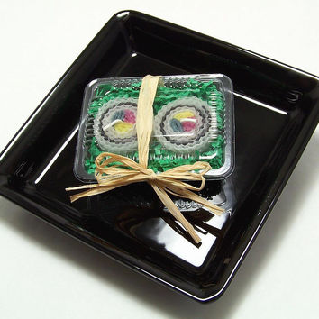 California Roll Sushi Candles 2 Piece Set