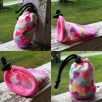 Refillable Heart Chalk Sock | The Climbing Stone