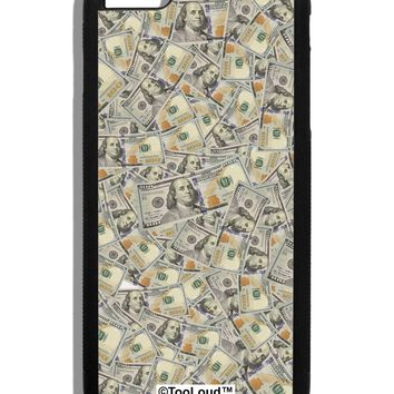 Benjamins Black iPhone 6 Plus Cover All Over Print by TooLoud